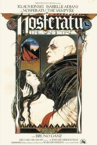 Twenty-three 24X36 Inch canvas poster Nosferatu The Vampyre