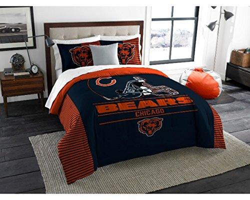 Northwest Enterprises Chicago Bears - 3 Piece King Size Printed Comforter & Shams