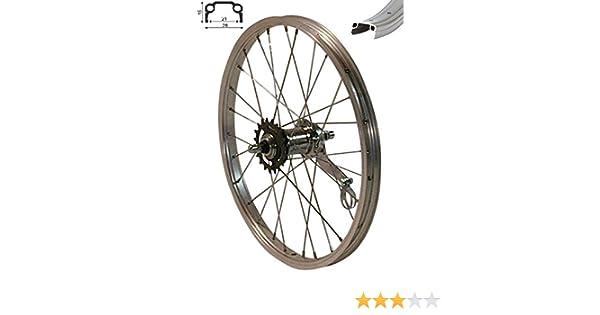 40.64 cm en la rueda trasera con frenos de contrapedal 40,64 cm para ruedas de bicicleta de ruedas de 36: Amazon.es: Deportes y aire libre