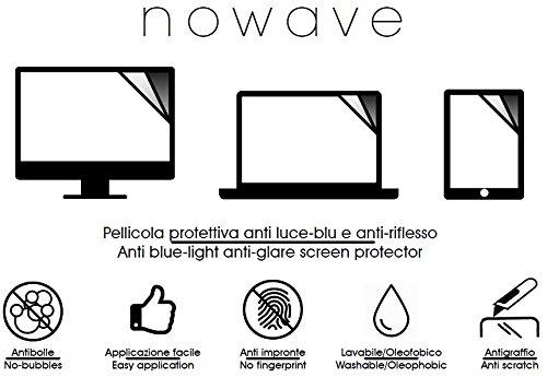 2 opinioni per NOWAVE Pellicola protettiva per monitor PC / LAPTOP /PORTATILI . Anti Luce Blu e