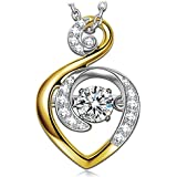 """Dancing Heart """"Guardiano d'Amore"""" Collana Donna in Argento 925"""
