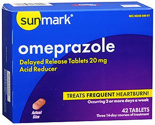 (Sunmark Ibuprofen Omeprazole 42 tablets by Sunmark)