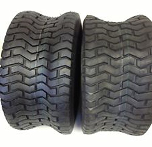 SET OF TWO (2) DEESTONE D265 20X10-8 20X10.00-8 4 Ply Rated Tubeless Turf Tires