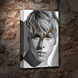 MITCH HEWER - Canvas Clock (LARGE A3 - Signed by the Artist) #js001
