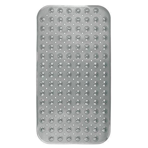 InterDesign Buttonz Non-Slip Bath Mat for Bathroom Shower...