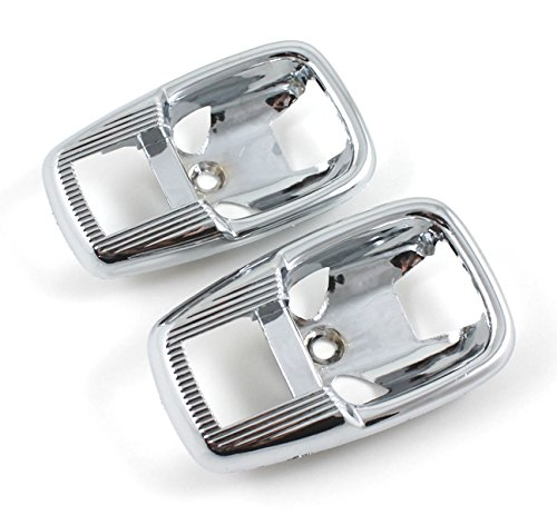 New Volkswagen Chrome Plastic Interior Door Handle Cover Plates - (Handles Cover Plate)