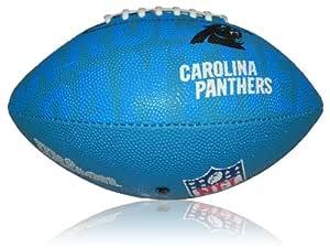 Wilson Football NFL Junior Carolina Panthers Logo - Balón de ...
