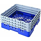 Cambro Full Size Camrack Base Rack, 7-1/2'', Black (BR712110) Category: Warewashing Racks
