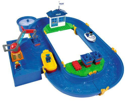 Big Waterplay Container Port