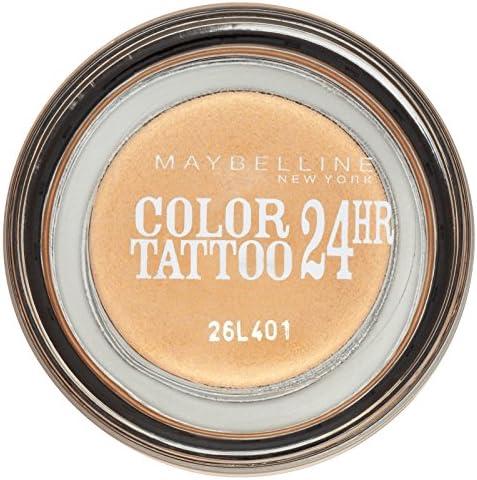 Maybelline Color Tattoo - sombra de ojos rojos - 70 granada ...