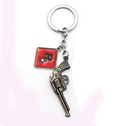 Amazon.com: Algol - Red Dead Redemption 2 Keychain Letter R ...