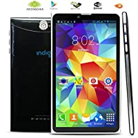 inDigi PB-A76s-3G-BK-CP12 Unlocked 7.0-Inch. Android 4.4 Phablet 3G Smart Phone Tablet PC GPS WiFi GSM - Black