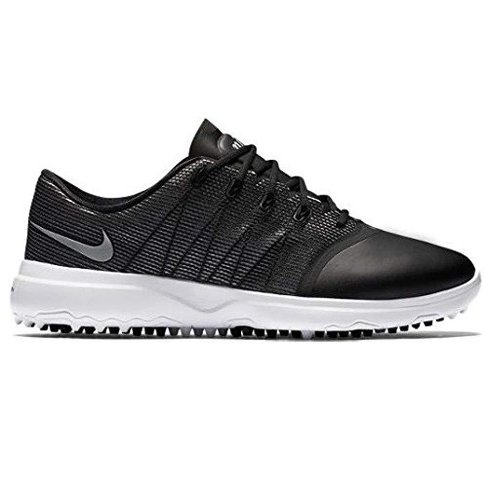 Nike Lunar Empress 2 Spikeless Golf Shoes 2016 Women Black/White/Metallic Silver Medium 6.5 by Nike
