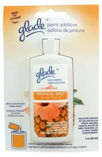 - Glade Scented Paint Additive, Tropical Mist, 1 oz, PATM