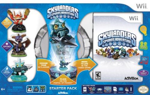 Skylander's Spyro's Adventure Starter Pack & Two Extra Figures | Wii ()