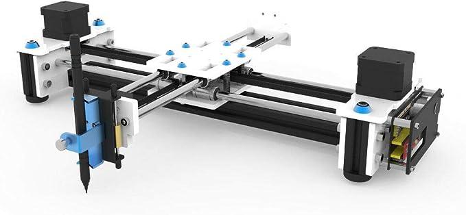 500 MW DIY Drawing Robot XY Plotter Pen Drawing Laser Grabado Máquina de Dibujo Letras Firma: Amazon.es: Juguetes y juegos
