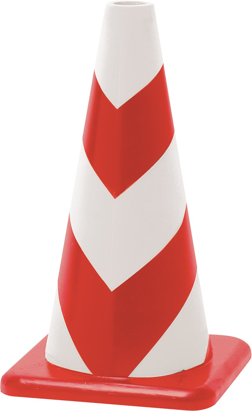 ラバーコーン 赤白 無反射タイプ 450mm 2.3kg 重くて丈夫な ゴム製 カラーコーン® 5本セット B072BMBFJ7