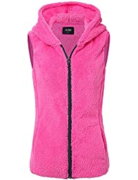 JayJay Women Active Ultra Soft Fur Fleece Long Sleeve Jersey Jacket