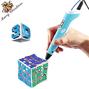 Warmhoming 3d Drawing Pen with LCD Screen 3d Printing Pen for 3d Drawing