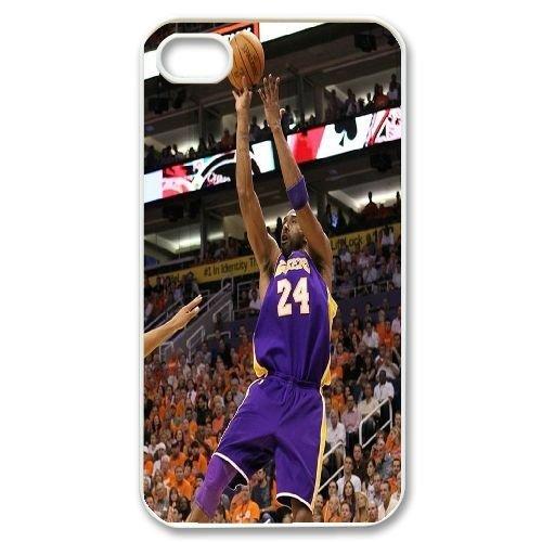 Custom Kobe Bryant Iphone 4,4S Phone Case, Kobe Bryant DIY Cell Phone Case for iPhone 4, iPhone 4s at Lzzcase