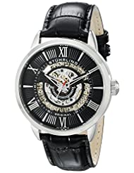 Stuhrling Original Men's 696.02 Delphi Analog Display Automatic Self Wind Black Watch