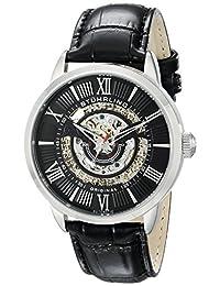 Stuhrling Original Men's 696.02 Delphi Analog Display Automatic Self Wind Black Watch