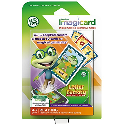 LeapFrog Letter Factory Adventures Imagicard Learning Game (for LeapPads and (Letter Factory Game)