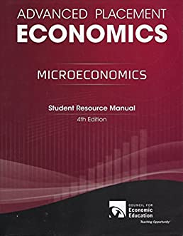 advanced placement microeconomics student resource manual gary l rh amazon com Activtiy Resource Guide Lucille Roybal-Allard Scholarships