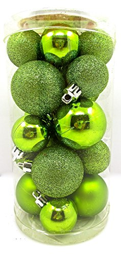 Lime Green Christmas Ornaments: Amazon.com