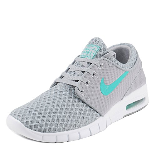 Nike Mens Stefan Janoski Max Wolf Grey/Light Retro-White Mesh Size 6.5