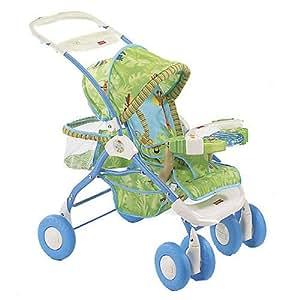 Amazon.com : Fisher Price Rainforest 5 in 1 Doll Stroller