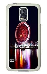 Samsung Galaxy S5 Ferris Wheel Of Happiness 01 PC Custom Samsung Galaxy S5 Case Cover White