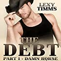 The Debt, Part 1: Damn Horse: Cowboy, Soldier Military Romance Audiobook by Lexy Timms Narrated by Hannah Pralle