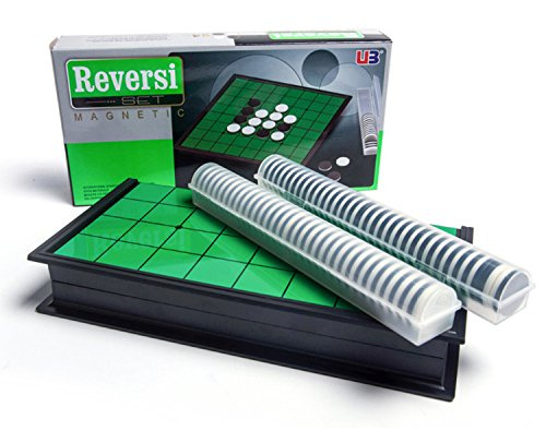 d-Toy Compact Storage Magnet Reversi Classic Table Games Othello