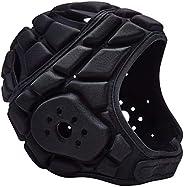 COOLOMG Kids Youth Padded Rugby Headgears Soft Scrum Cap Sport Goalkeeper Adjustable Soccer Goalie Helmets Hea