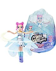 Hatchimals Pixies, Crystal Flyers Starlight Idol Magical Flying Pixie Toy with Lights, Kids Toys for Girls Ages 6 and up