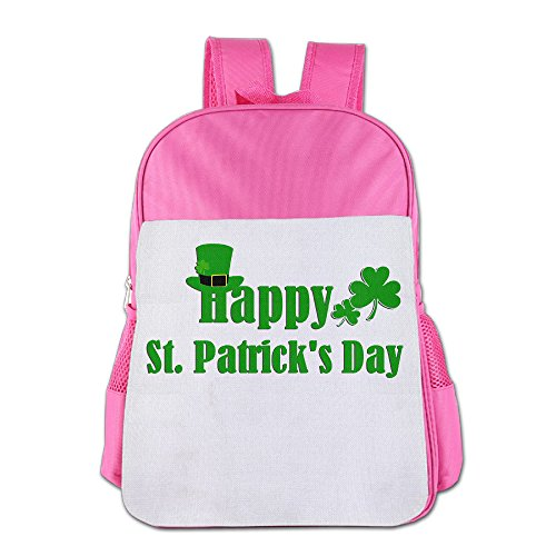 GABRIELA ROSALES Happy St.Patrick's Day Elegant First Class Unisex Bag Children's Backpack Bag School Sport Bags Shoulder Backpacks Kids' Schoolbag Bags - Foxwoods Kids With