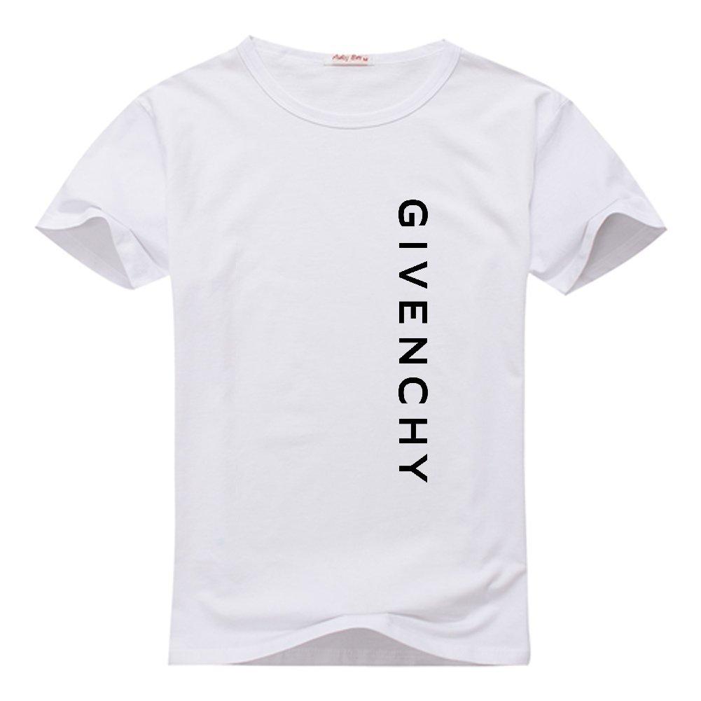 Givenchy Logo niños y niñas impresión Cuello Redondo Camiseta de algodón: Amazon.es: Libros