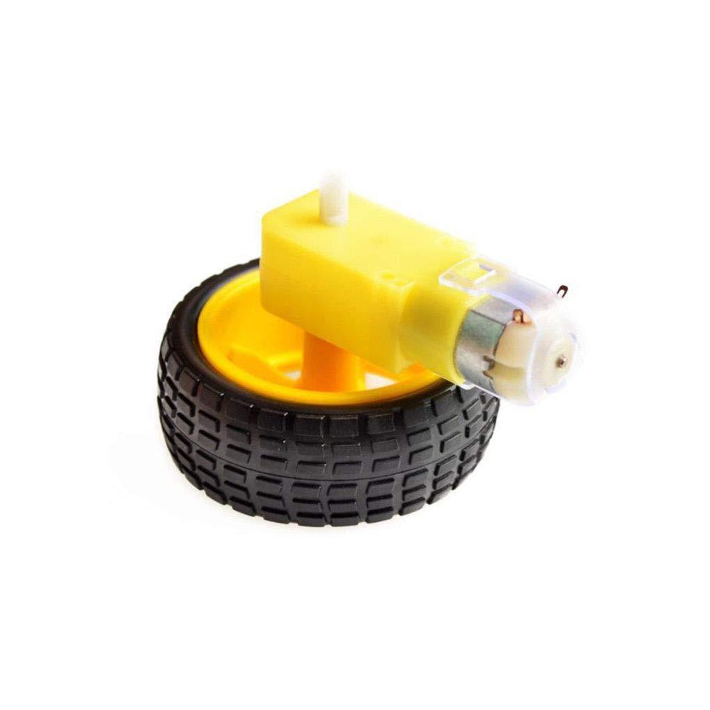 4-Wheel Smart Robot Car Chassis Kits HC-SR04 Sonic Tracking Module DIY Tool Compatible for Arduino Regard