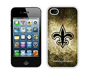 Beautiful And Unique Designed Case For iPhone 4 With New Orleans Saints 19 (2) Phone Case