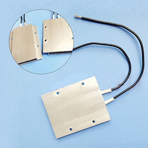 1PCS PTC Thermostat Aluminum Heating Element Heater Plate 60W AC/DC 12V 180 Degree Incubator Dehumidification Jwn CA-Handtool-153