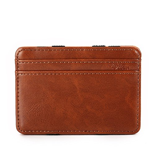 ifold Leather Wallet Slim Money Clip Front Pocket Wallet ()