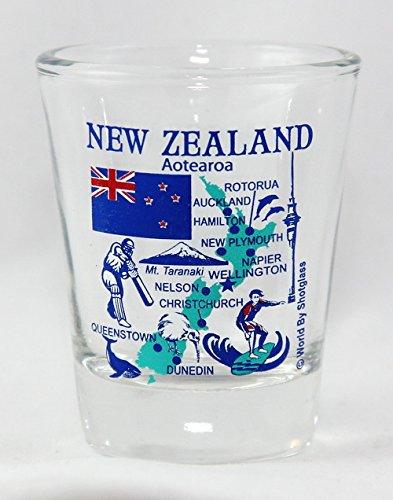 New Zealand Landmarks and Icons Collage Shot - Zealand Glasses New