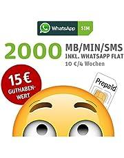 Stark reduziert: WhatsApp SIM Prepaid