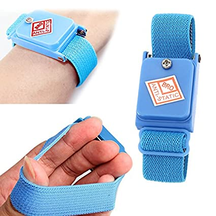 New Arrivals Blue Cordless Wireless Anti Static Esd Discharge Cable Band Wrist Strap Slim Smart Accessories