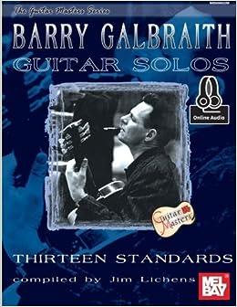 Book Barry Galbraith Guitar Solos (Guitar Masters) by Barry Galbraith (2015-06-16)