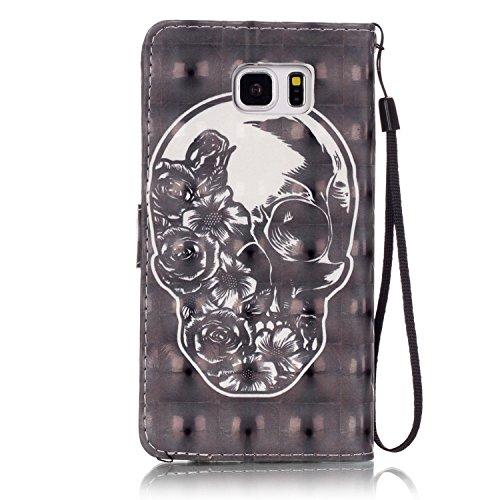PU Carcasa de silicona teléfono móvil Painted PC Case Cover Carcasa Funda De Piel Caso de Shell cubierta para Samsung Galaxy Note 5N920+ Polvo Conector blanco 1 3