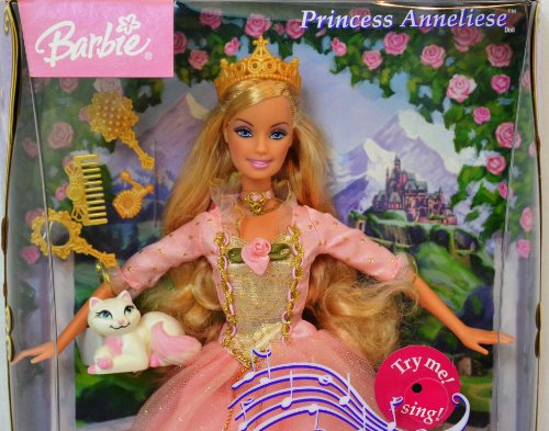 None Barbie as Princess and the Pauper Princess Anneliese Barbie The Princess And The Pauper