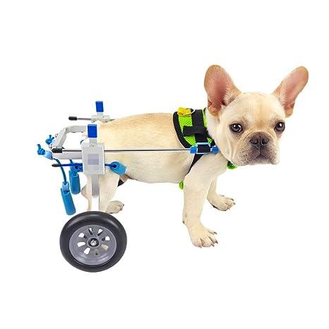 MLMCWCJ Silla de Ruedas para Perros, extremidades traseras, Soporte de Perro para discapacitados,