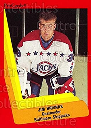 81b37ac4109 Amazon.com  (CI) Jim Hrivnak Hockey Card 1990-91 ProCards AHL IHL ...